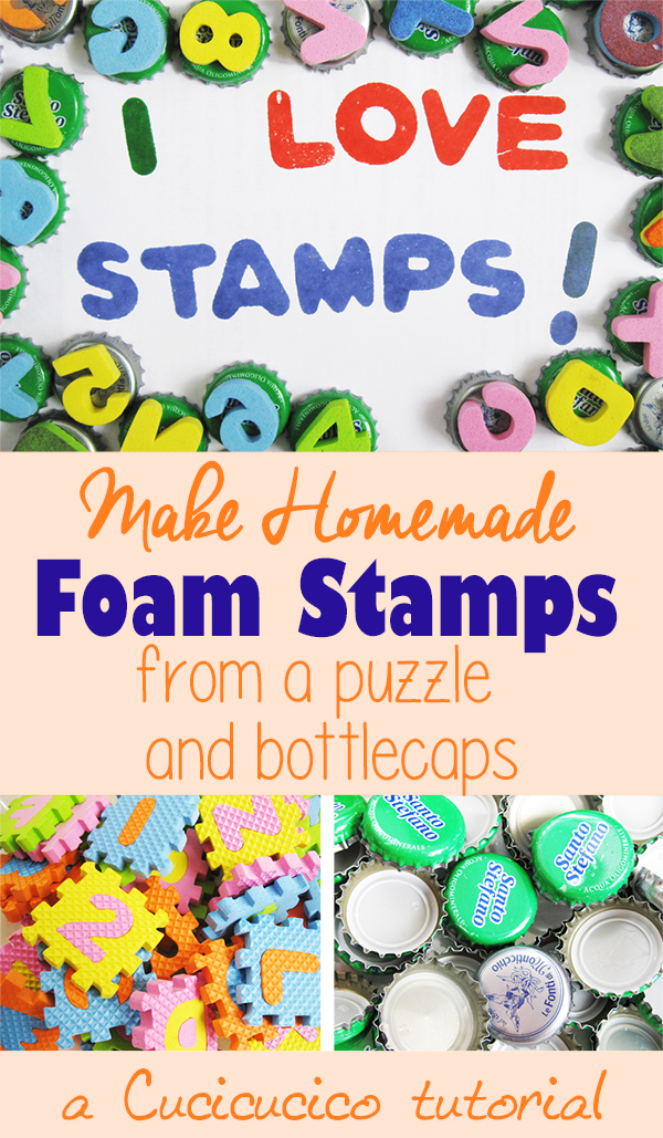 how to make homemade rubber stamps