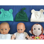 Zaaberry newborn hats