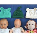 Zaaberry newborn hats
