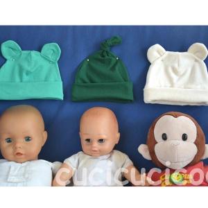 cappellini da neonato