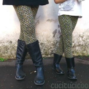 sewing leggings