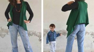 Simple rectangle vest