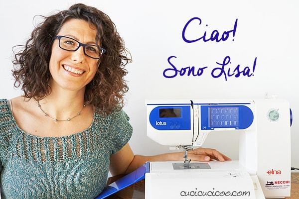Vieni a conoscere la storia del sito Cucicucicoo Eco Sewing & Crafting, nato dalla passione per il fai-da-te, l'ecosostenibilità e l'uso delle arti manuali come forma terapeutica. Fondatrice Lisa Neri