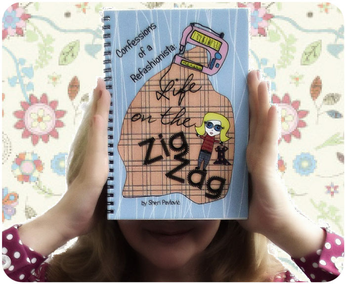 """Sheri from Confessions of a Refashionista and her book """"Life on the Zig Zag"""""""