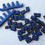 What to do with broken flip flops? DIY stamps!