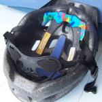 Bike helmet padding fix