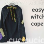 Super easy witch cape