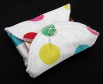 REGULAR cloth menstrual pad folded by cucicucicoo