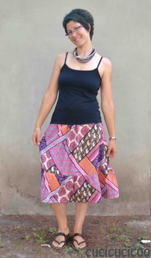 Turn a dress into a skirt