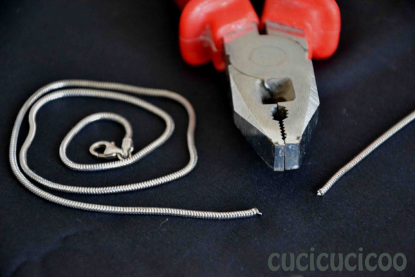 how to shorten necklace chains
