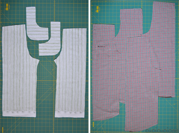 make pants from a shorts pattern