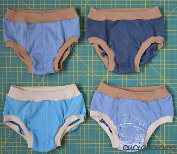 Turn Old T Shirts into Boys\' Underwear - Cucicucicoo