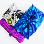 Stop wasting wrapping paper! This tutorial shows how to make Furoshiki, a Japanese style of fabric gift wrap that gets folded and reused over and over. So pretty and colorful! www.cucicucicoo.com