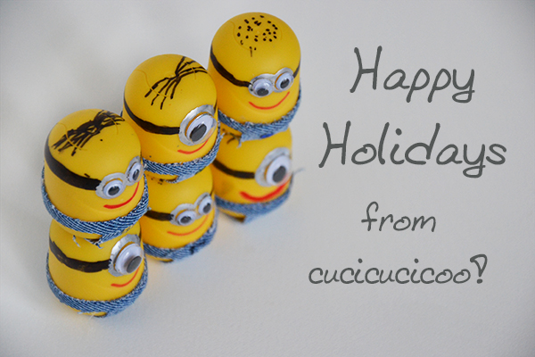 Happy holidays Minions
