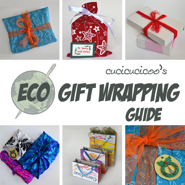 Wrap your gifts without the extra waste. Cucicucicoo's Eco Gift Wrapping Guide will show you all sorts of ways!