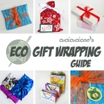 Stop wasting wrapping paper! Here are some fantastic ideas for eco-sustainable gift wrap, for beautiful and conscientious gift packages! www.cucicucicoo.com