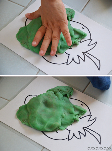 Tutorial: How to make your own Play Doh picture mats