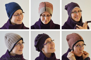 Sew hats from wool sweaters | www.cucicucicoo.com