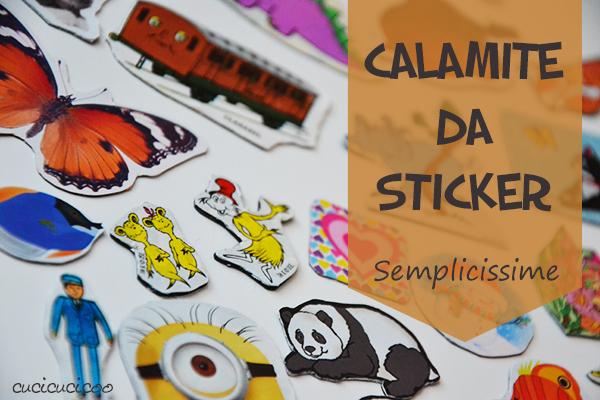 Come fare calamite semplicissime da stickers