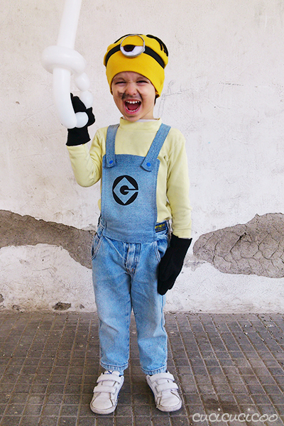 How to make a DIY Stuart Minion costume  sc 1 st  Cucicucicoo & Despicable Me costumes: make a DIY Stuart Minion costume - Cucicucicoo