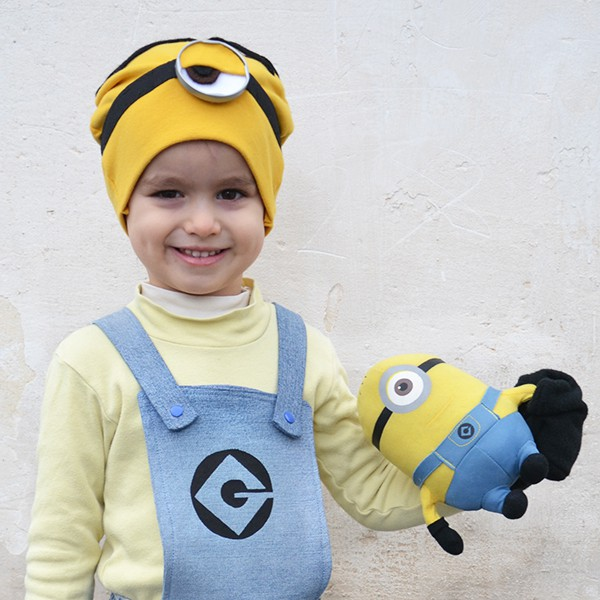 Despicable Me costumes: make a DIY Stuart Minion costume - Cucicucicoo