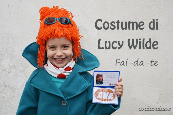 Costumi Cattivissimo Me: sciarpa e cappotto di Lucy Wilde