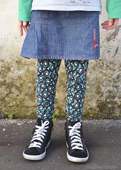 Serger Pepper's Basic Leggings: Pattern Review