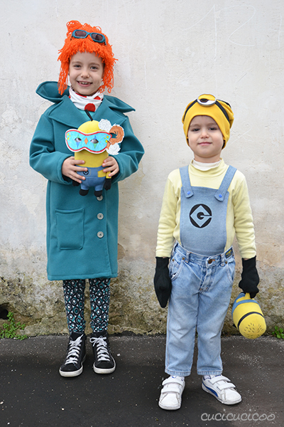 DIY Despicable Me 2 Carnival costumes