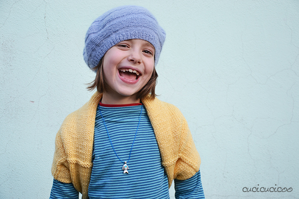 Tutorial: How to refashion a short scarf into a cozy winter shrug
