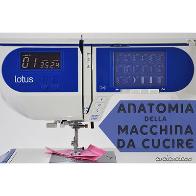 L 39 anatomia della macchina da cucire impara a cucire for Victoria macchina da cucire