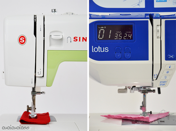 Learn to Machine Sew, Lesson 1: The Anatomy of a Sewing Machine - threading the machine