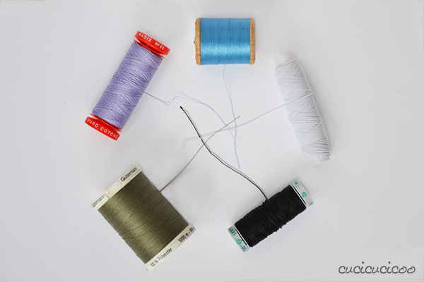 The best sewing tools for working faster with professional results. The importance of choosing the right thread!