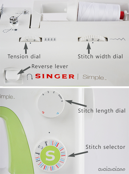 Learn to Machine Sew, Lesson 1: The Anatomy of a Sewing Machine - Singer Simple