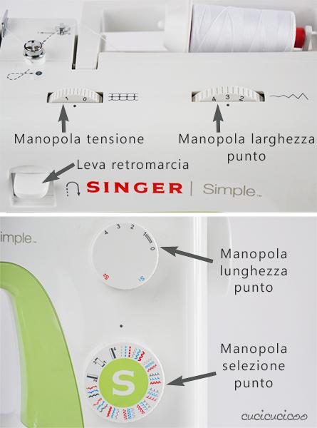 L'Anatomia della macchina da cucire: Impara a cucire a macchina, Lezione 1 - Singer Simple