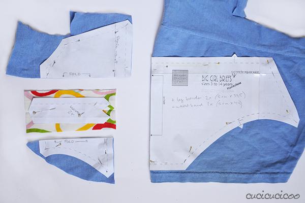 Big Girl Briefs: sewing underwear from t-shirts! Serger Pepper #biggirlbriefs pattern review