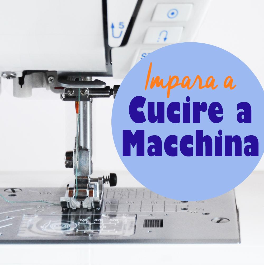 Impara a cucire a macchina con il corso GRATUITO di Cucicucicoo per principianti! Ogni lezione è abbinata ad un tutorial per un progetto pratico per creare qualcosa di fantastico! #imparareacucire #lezionedicucito