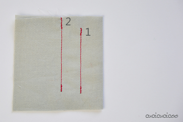 Learn to Machine Sew: How to Backstitch (or Staystich) on a Sewing Machine