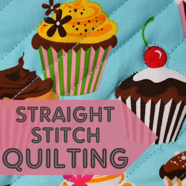 Learn to Machine Sew, Straight Stitch Practice Tutorial: Simple Quilting
