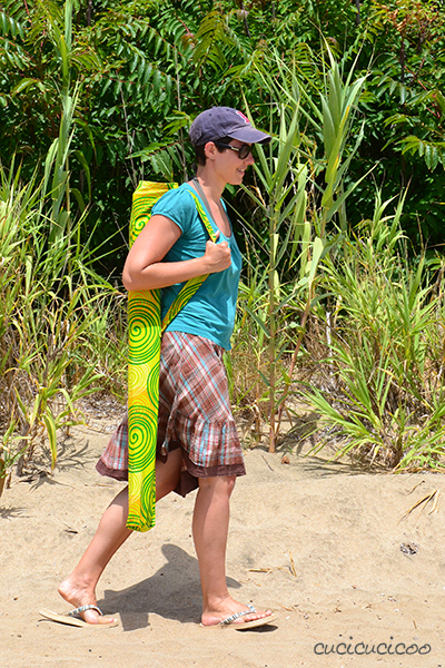 Sew your own Beach Umbrella Carry Bag: a free sewing tutorial