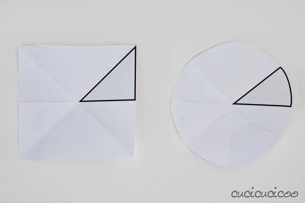 Seam Allowance Practice Tutorial: Simple Felt Coasters with Reverse Applique