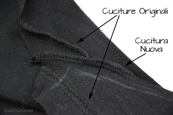 Refashion Tutorial: Come rendere femminile una maglietta da uomo