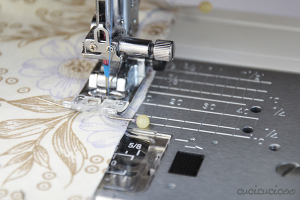 Learn to Machine Sew: Sewing with Seam Allowances and Pins