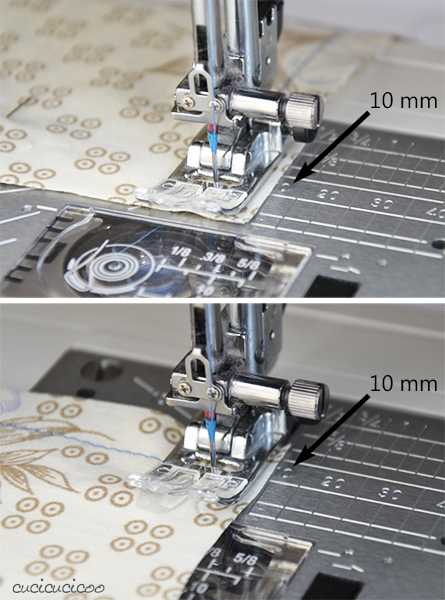 Learn to Machine Sew: Sewing with Seam Allowances and Pins - sewing corners