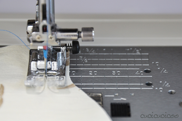 Learn to Machine Sew: Sewing with Seam Allowances and Pins - curved edges