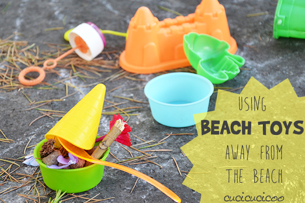 How to keep playing at the beach... away from the beach