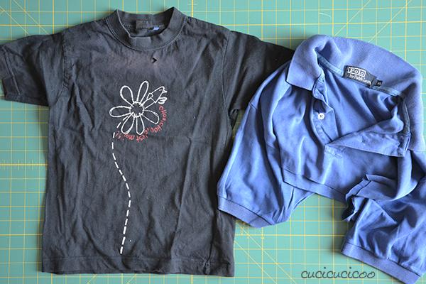 Tutorial: How to embellish clothing with slashed t-shirt reverse applique