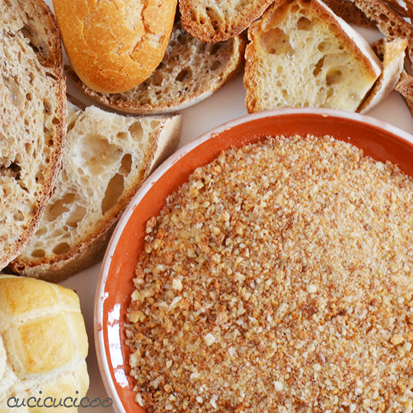 How to make Homemade Bread Crumbs | www.cucicucicoo.com
