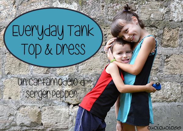 Everyday Tank Top di Serger Pepper: una recensione del cartamodello di cucito | www.cucicucicoo.com