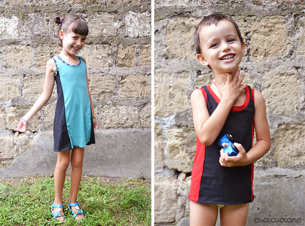 Serger Pepper's Everyday Tank Top and Dress PDF pattern: a review by Cucicucicoo.com