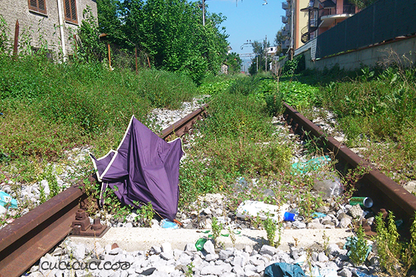 Tutorial: How to remove fabric from umbrellas | www.cucicucicoo.com